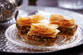 Mixed nut baklava