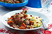 Chicken & pomegranate tagine