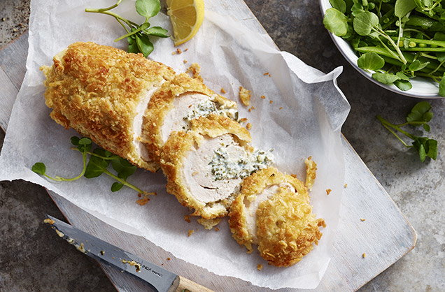 How To Make Chicken Kiev Chicken Kiev Recipe Tesco