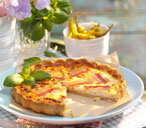 finest maple bacon & gruyere quiche (di)