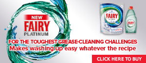 Fairy - For the toughest grease-cleaning challenges