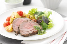 Lamb Roast with Mint and Honey Glaze