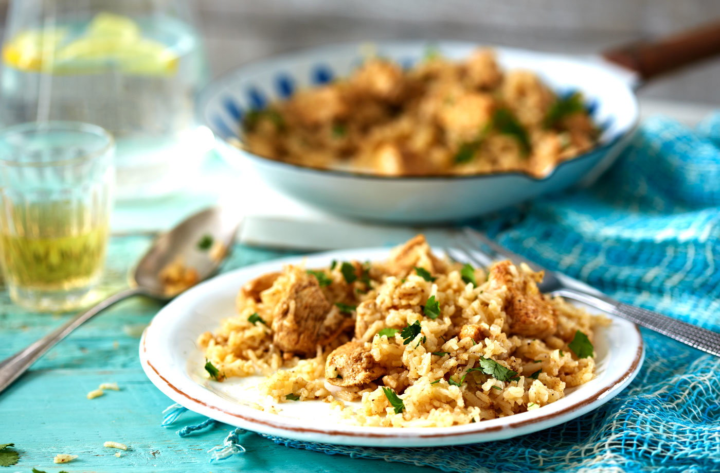 Easy chicken biryani tesco real food for Chicken biryani at home