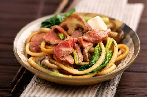 Beef Trim Sukiyaki Recipe — Dishmaps