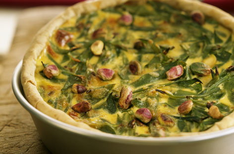 French bean tart