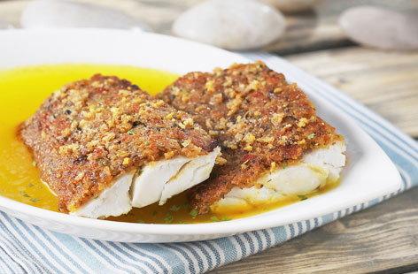 Fish with bordelaise sauce tesco real food - Cuisine bordelaise ...