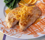 Turkey with honey & citrus sauce