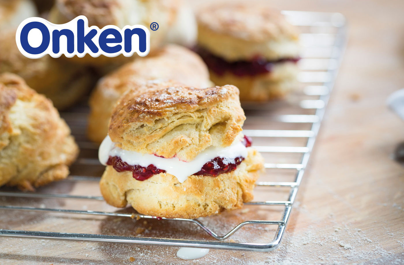 Yogurt scones | Tesco Real Food