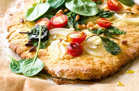 Flatbread with vegetables