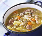 A delicious hearty Irish stew