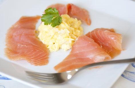 eggs super eggy scrambled eggs scrambled eggs with salmon roe recipe ...