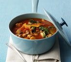 As a lighter option, why not try this simplistic tofu stew