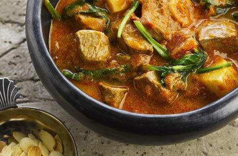 Lamb red curry