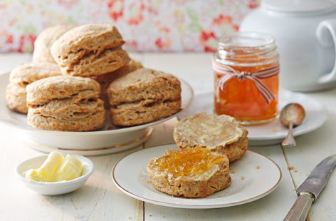 Orange and cinnamon scones