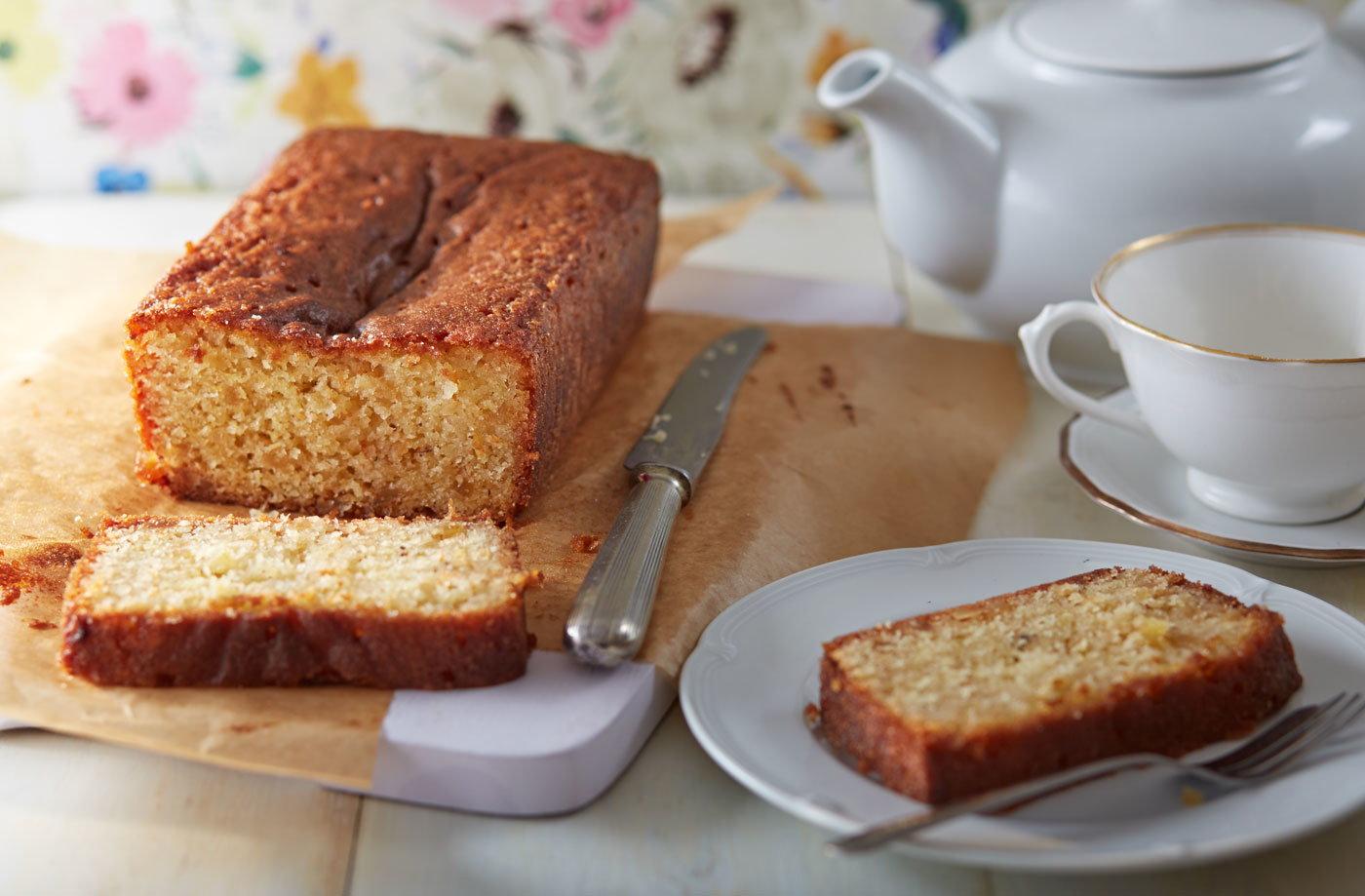 Lemon and Marzipan Drizzle Cake Recipe