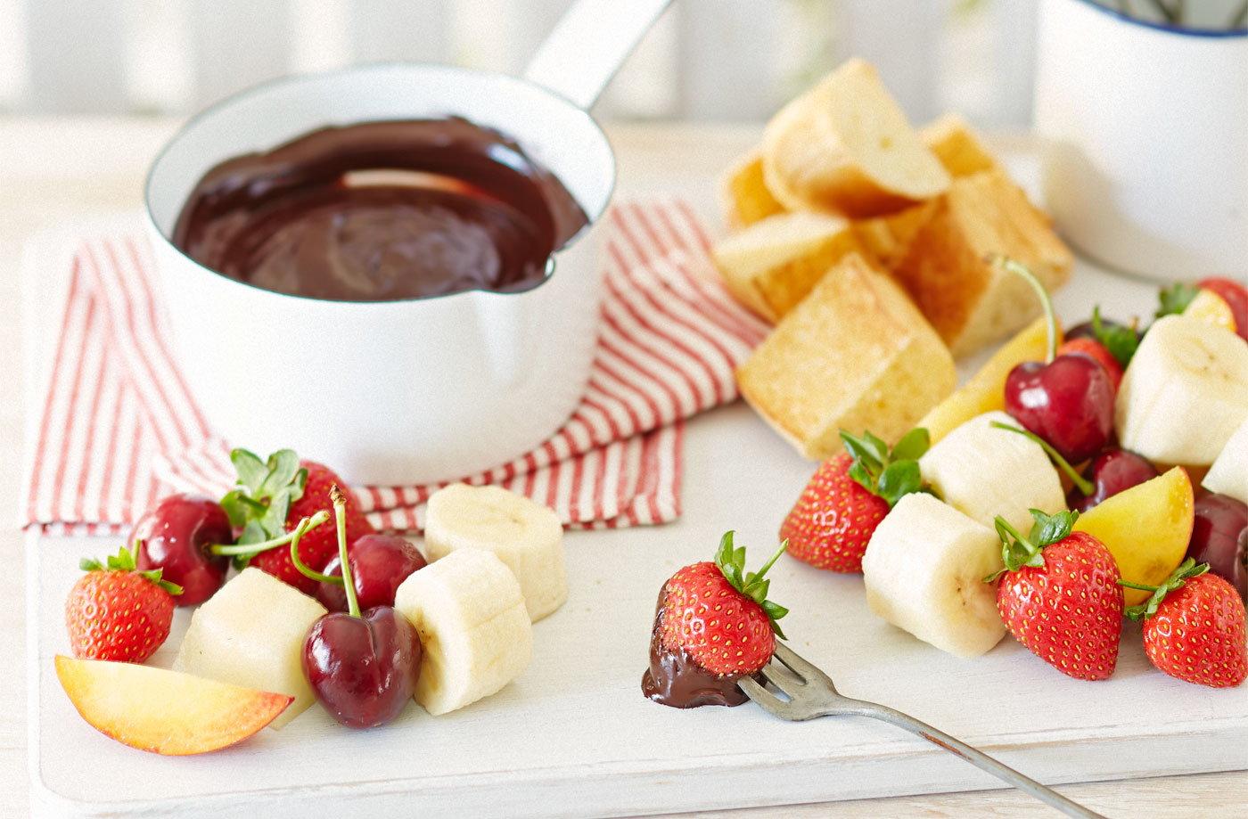 Milk Chocolate Fondue Recipe Uk