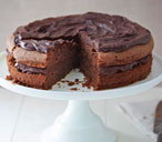 Baileys chocolate almond cake
