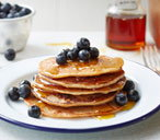 Dairy and egg-free banana pancakes
