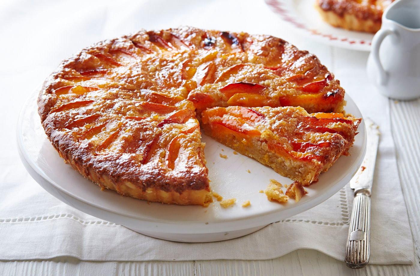 Gluten-free apricot frangipane tart   Tesco Real Food