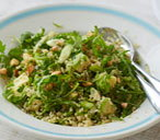 Quinoa, avocado and almond salad