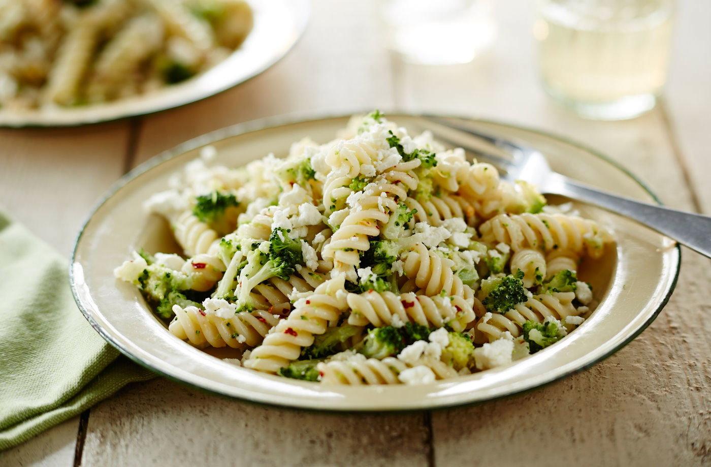 broccoli pasta tesco real food