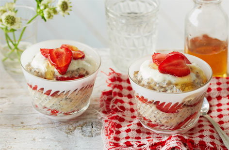 31 Strawberry Oast Chia Breakfast Cups (H)