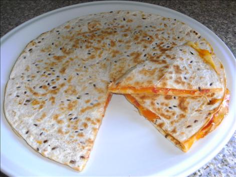 2 cheese quesadilla