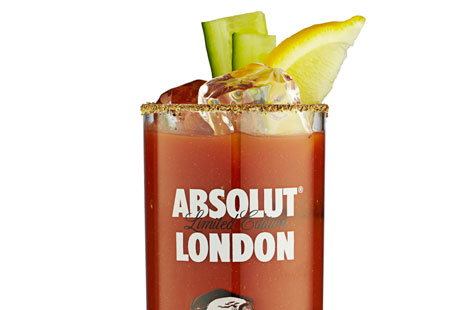 Absolut london bloody mary