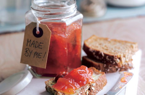 Apple, pear and plum jam HERO