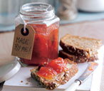 Apple, pear and plum jam