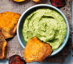 Artichoke, spinach and pine nut dip