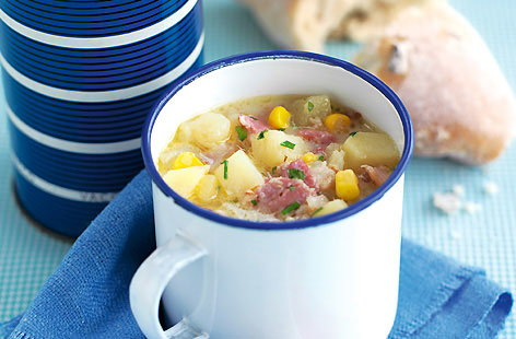 Bacon and Potato Chowder HERO