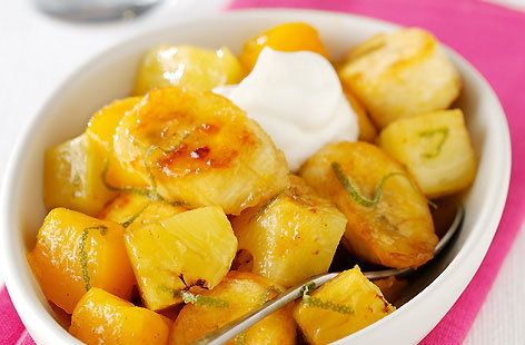 Baked Tropical FruitsTHUMB