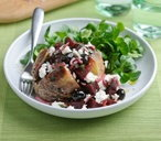Baked potato with beetroot THUMB