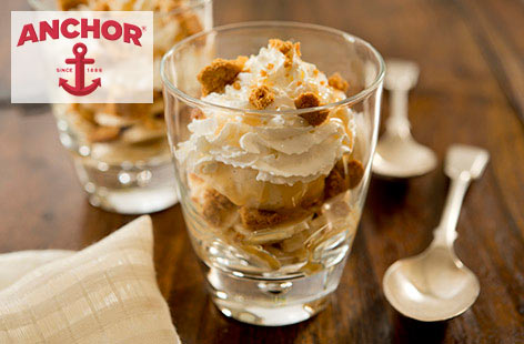 Banoffee pie ice cream sundae | Tesco Real Food