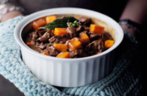 Beef and butternut pumpkin pot HERO
