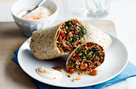 Our quick and healthy recipes are perfect if you're pushed for time
