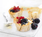 Blackberry summer tarts