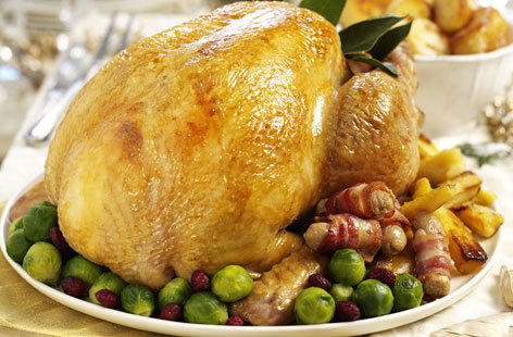 Gluten-free stuffed turkey