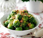 Brussels sprouts with lemon crumbs THUMB