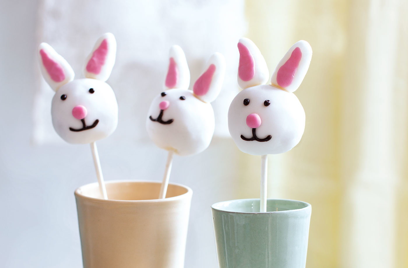 Easter Bunny Cake Pops Recipe