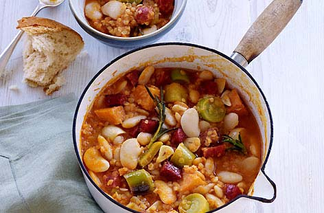 Butter Bean Red Lentil Sweet Potato and Chorizo Stew thumb 86cf6073 ...