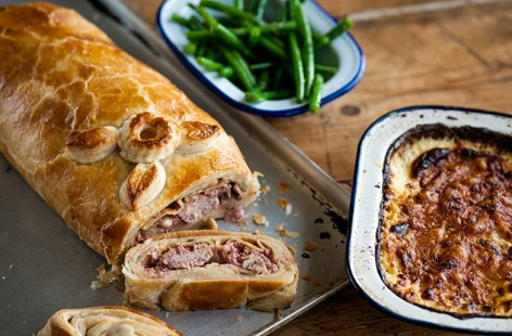 Colin McGurran's pork Wellington