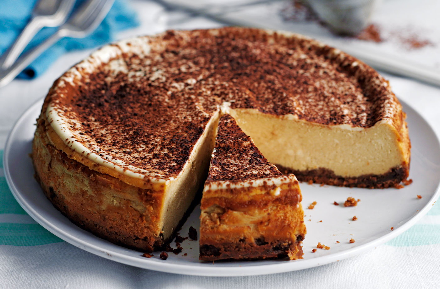 Chocolate Cake Recipe Uk Tesco: Cappuccino Cheesecake
