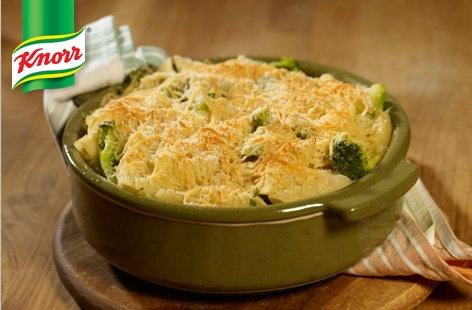 (t)cheddar And broccoli pasta bake Knorr TESCO