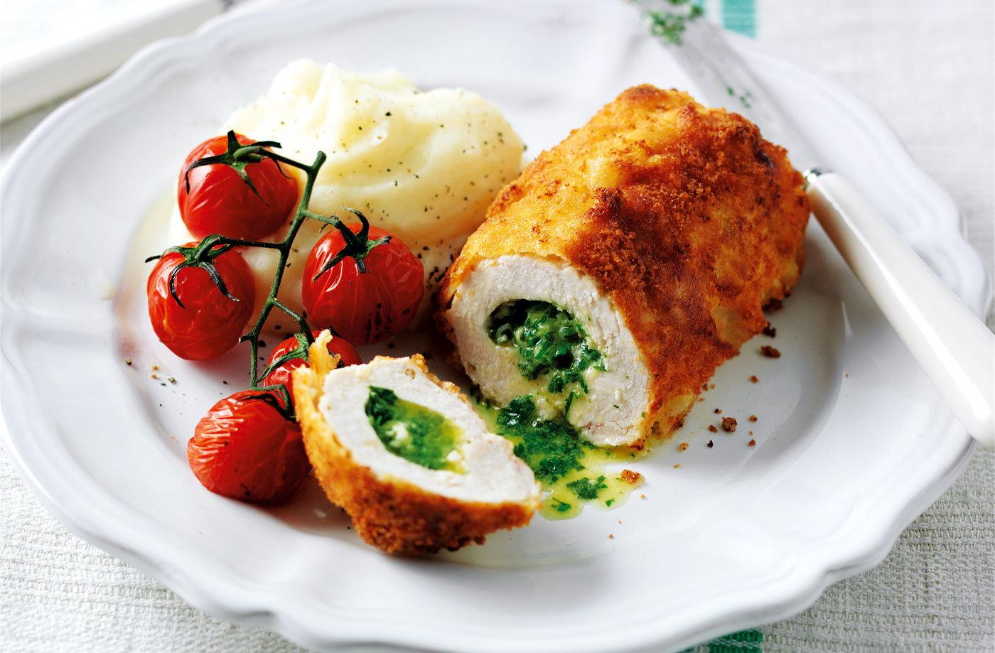 Mini Chicken Kievs Recipe Chicken Kiev Recipe