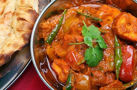 Chicken and tomato spiced curryTHUMB