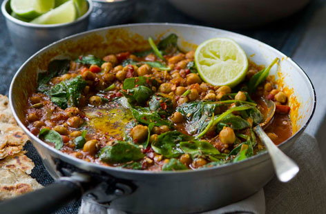 Chickpea and Spinach Curry HERO