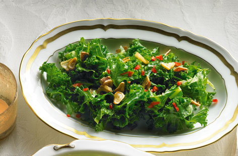 Chilli and garlic kale THUMB