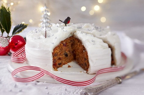 Gluten-free quick Christmas cake Tesco Real Food